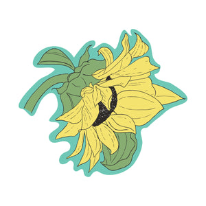 Sunflower : Monki Laptop Sticker