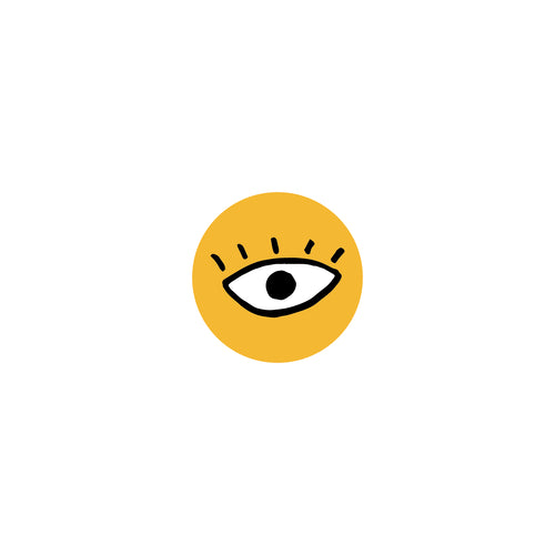 Eye : Monki Laptop Sticker
