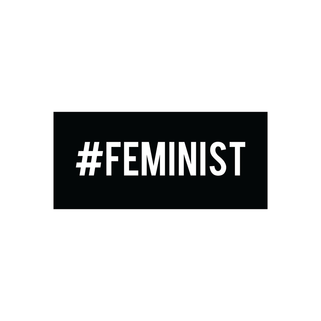 Feminist : Monki Laptop Sticker