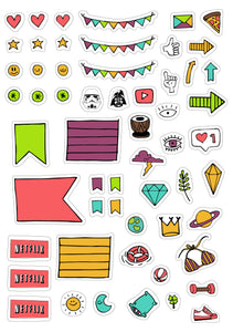 Original Monki Planner Stickers
