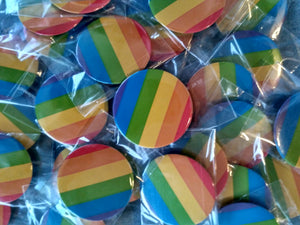 Pin-Back Buttons : Pride
