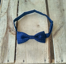 Monki Bow Tie : Generic Navy Blue