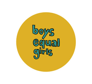 Monki Grip : Boys Equal Girls