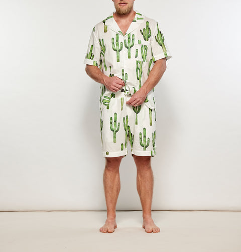 Men's Cotton Palm Springs Set