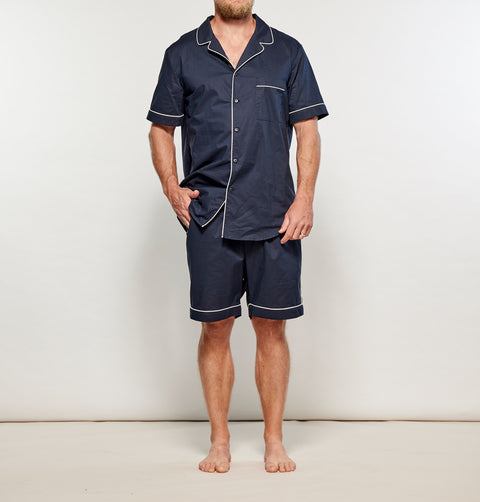 Men's Navy w/ White Summer Set