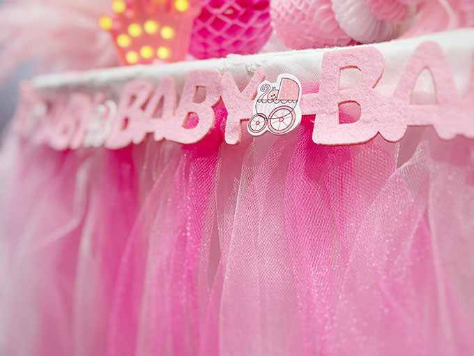 Luxus Pink Baby Shower Pakke