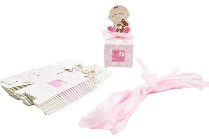 Copy of Luxus Pink Baby Shower Pakke