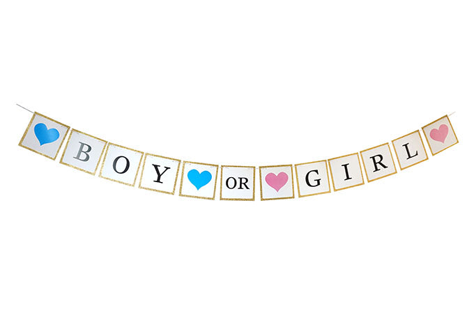 Boy or Girl Guirlande
