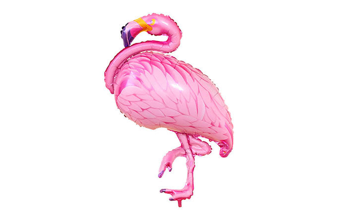 Flamingo Alu Folie Ballon