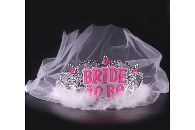 Bride To Be Tiara M/Slør