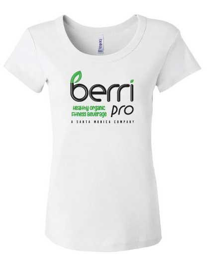 Berri Pro Ladies Team T-Shirt (White)