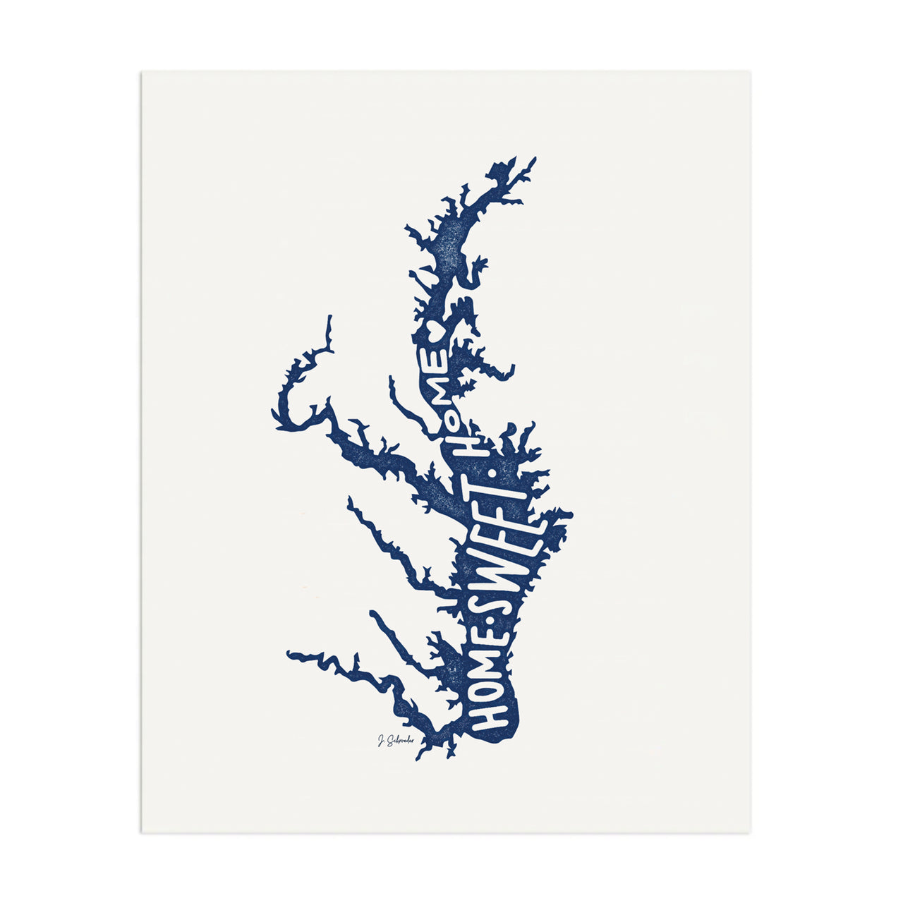 Chesapeake Home Print