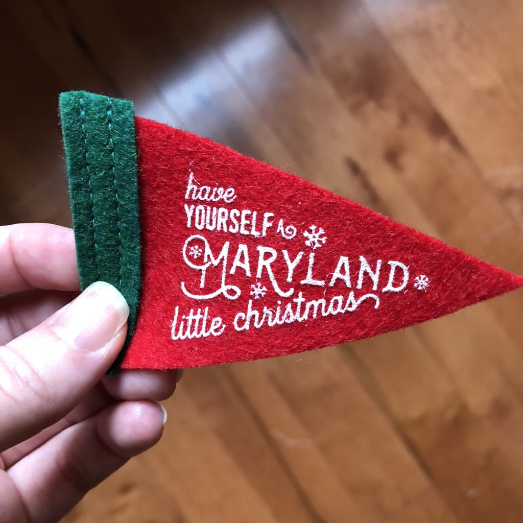 Maryland Little Christmas - Gift Decor