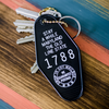 Stay Awhile - Motel Keychain