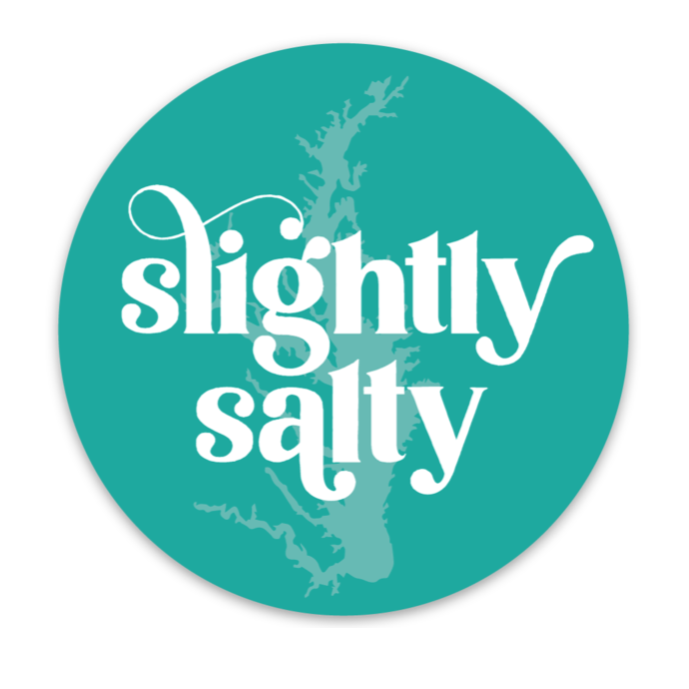 Slighty Salty - Sticker