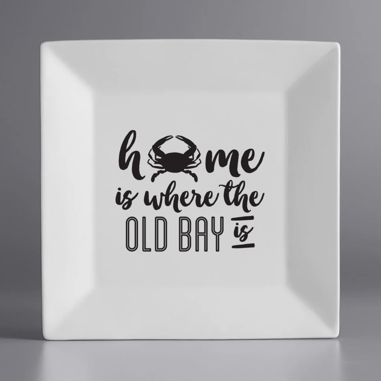 Old Bay Plate