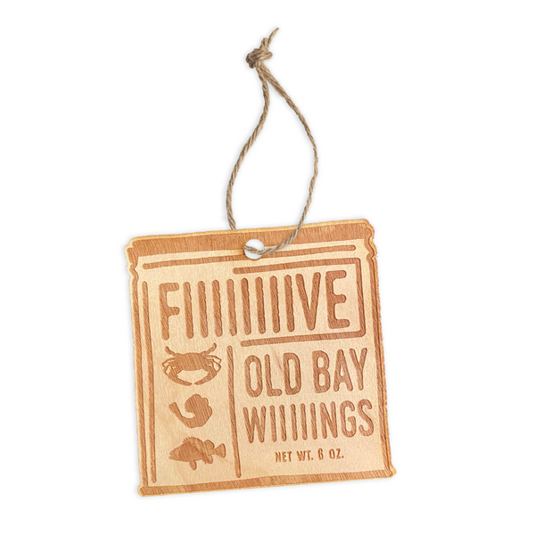 5 Old Bay Wings Ornament