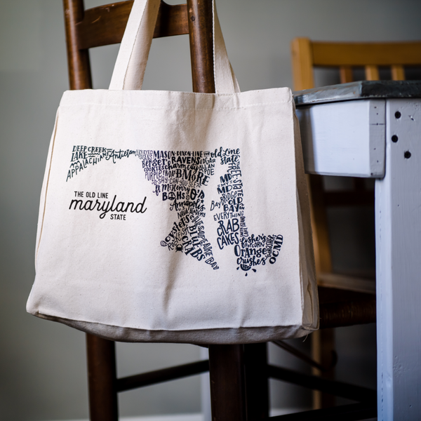 MD in Type Tote Bag