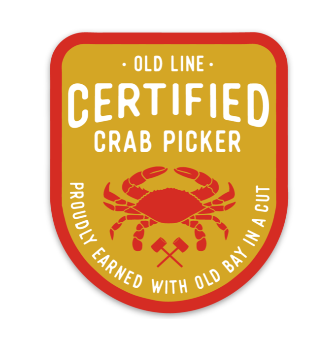 Certified Crab Picker - Sticker