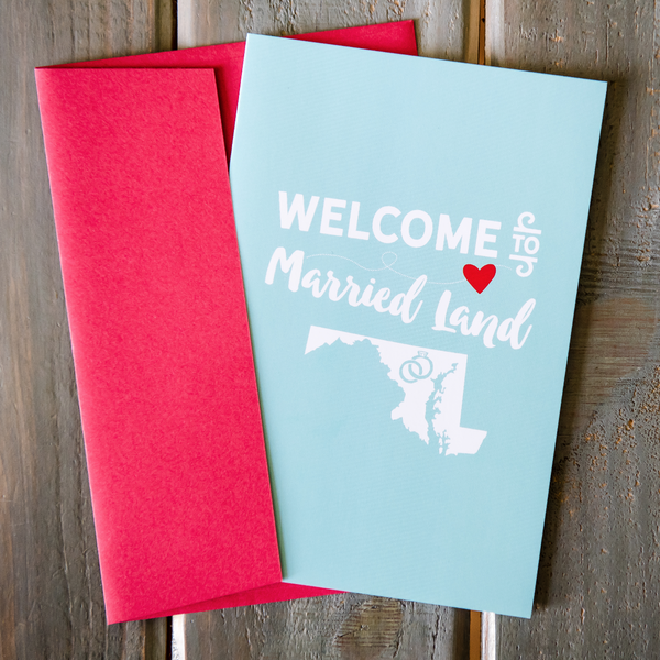 Married Land - Greeting Card