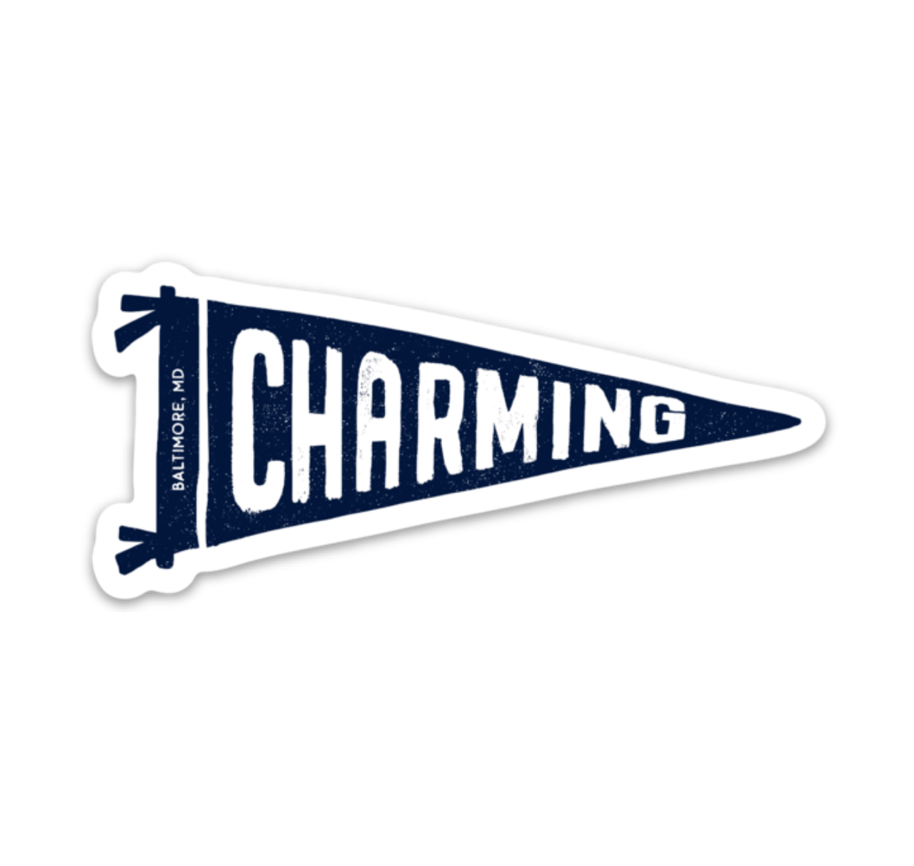 Charming Pennant Sticker