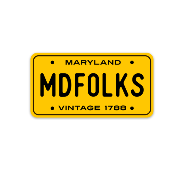 MD Folks - Sticker