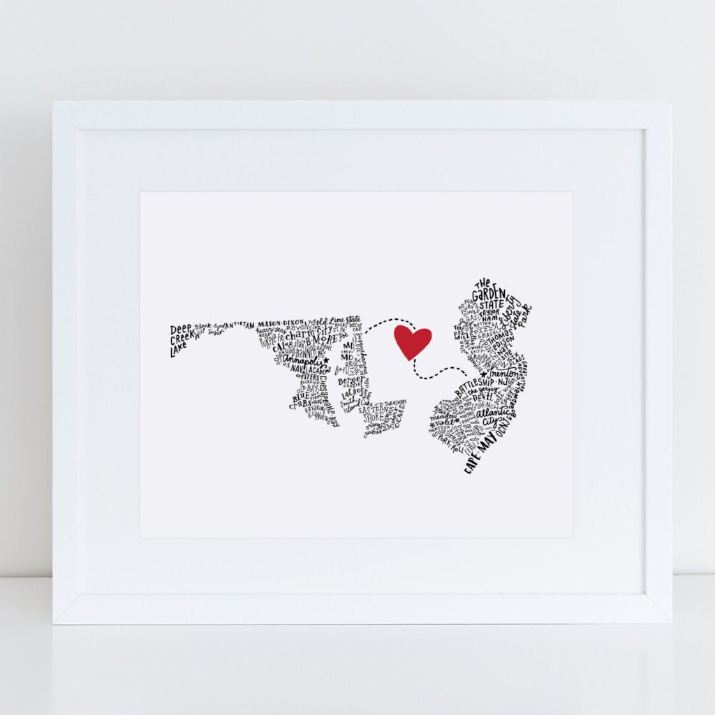 "State Your Love - Custom 8""x10"""