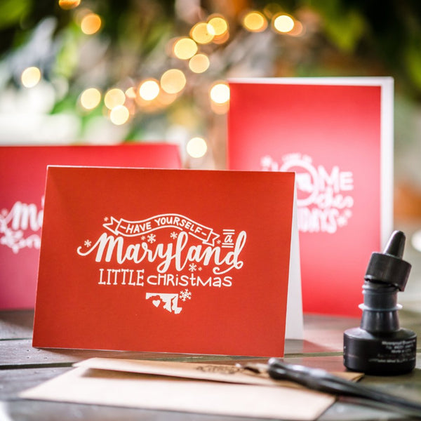 MD Little Christmas - Holiday Card