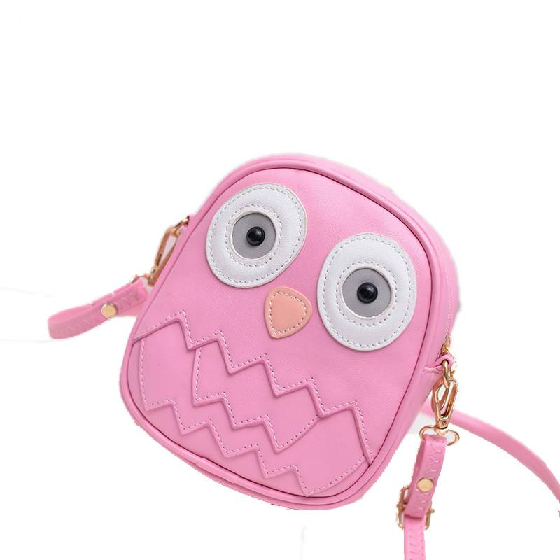 Girls Owl Pattern Crossbody Shoulder Bag - Owl Gifts Shop