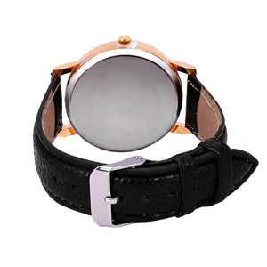 PU Leather Owl Design Wrist watch For Her - Owl Gifts Shop