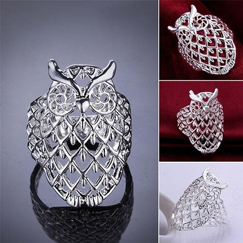 Women's Hollow Owl Shaped Fashionable Ring - Owl Gifts Shop