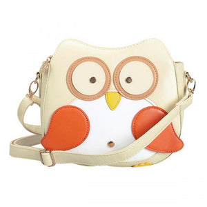 Crossbody Owl Shaped Women Mini Shoulder Bag made of PU Leather - Owl Gifts Shop