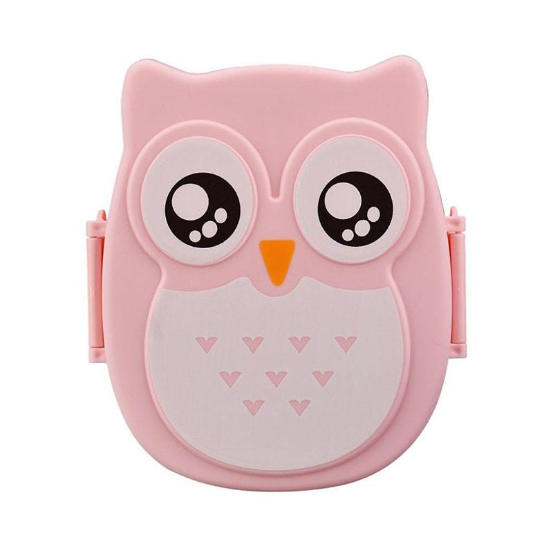 Owl Shape Kids Lunch Box Microwave Safe - Owl Gifts Shop
