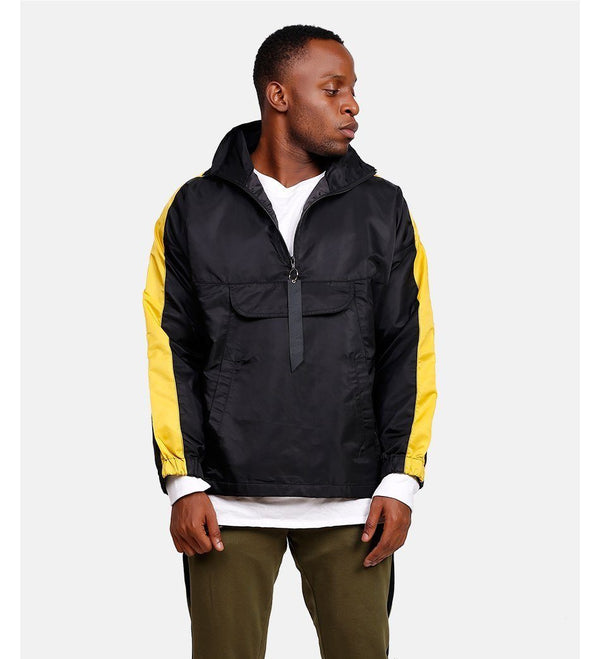 RETRO SPORTS JACKET - BLACK / GOLD