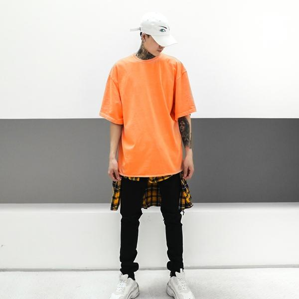 ESSENTIAL TEE - ORANGE
