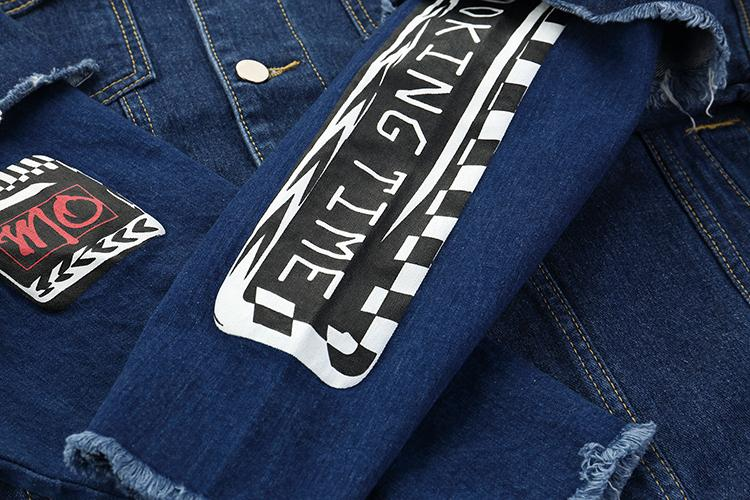 MFOUR DENIM JACKET