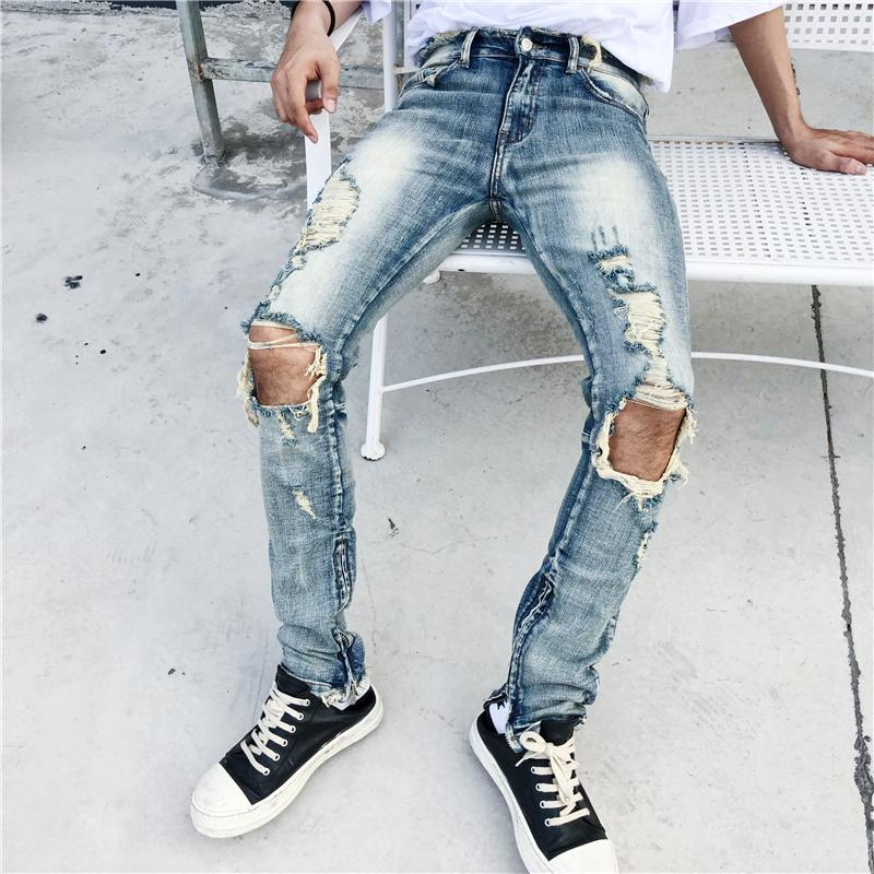 RAW EDGE DENIM