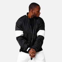 VDOPE ZIP BOMBER - BLACK/WHITE