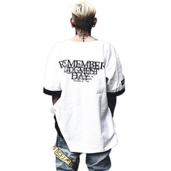 """REMEMBER"" T-SHIRT STREETFASHION"
