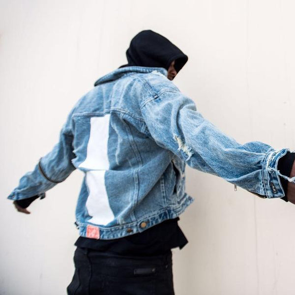VDOPE STREET DENIM JACKET STREETFASHION