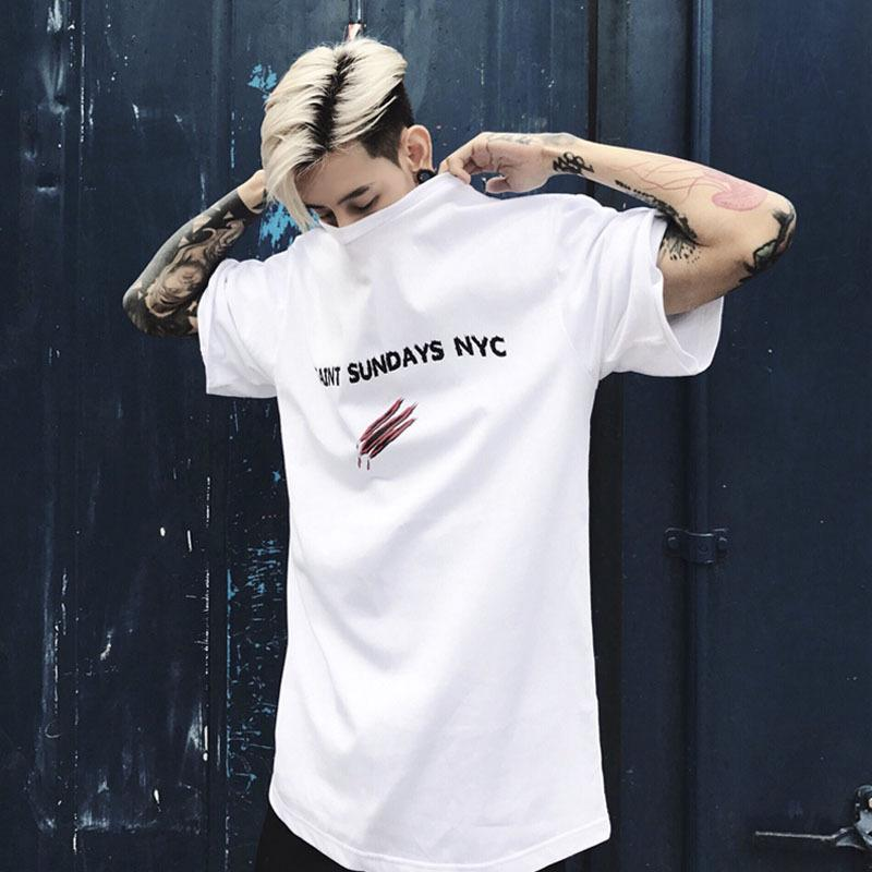 """SAINT SUNDAY"" T-SHIRT OVERSIZE STREETFASHION"