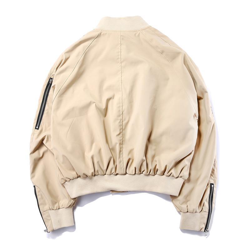 VDOPE AUTUMN BOMBER - KHAKI STREETFASHION