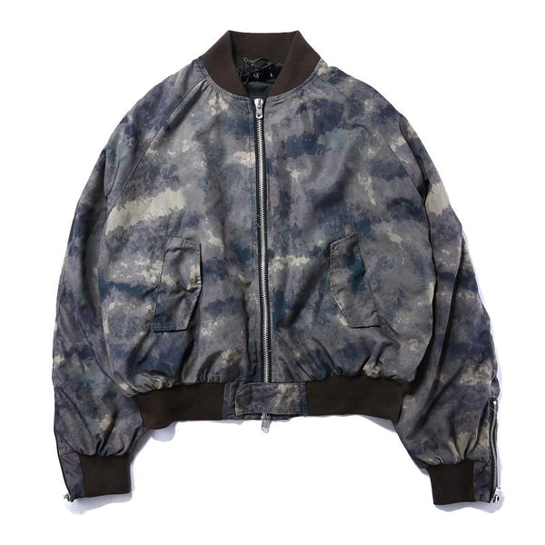 VDOPE AUTUMN BOMBER - CAMO STREETFASHION
