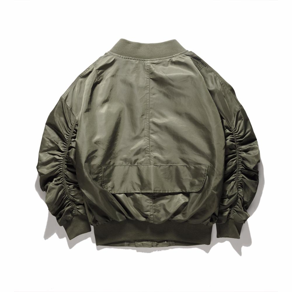 ESSENTIAL BOMBER JACKET - GREEN STREETFASHION