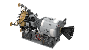 New: Apollo Spacecraft 7090pcs