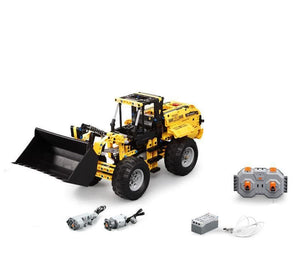 Remote Controlled Loader 491pcs