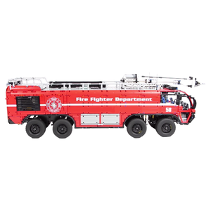 New: Airport Firetruck 7175pcs