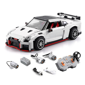 New: Remote Controlled Nissan GTR R35 1322pcs