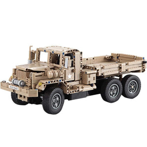 Remote Controlled Military Truck