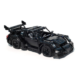 New: Remote Controlled Black Supercar 1123pcs